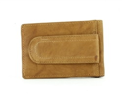 Bacci Slim Wallet With Magnetic Money Clip Style : 15674