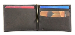 Cowhide Money Clip Wallet Style : 17573