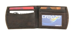 Goat Skin Super Slim Front Pocket Wallet Style : 17701