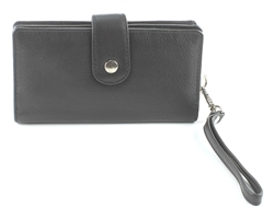 Snap Closure Wristlet Style : 1912 BLACK