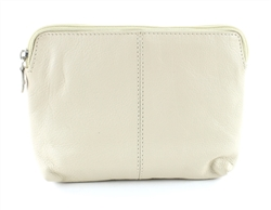 COSMETIC BAG  Style: # 1914 BEIGE