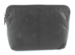 COSMETIC BAG  Style: # 1914 BLACK