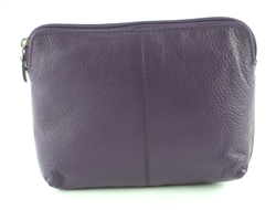 COSMETIC BAG  Style: # 1914 PURPLE