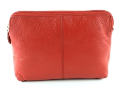 COSMETIC BAG  Style: # 1914 RED