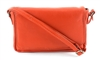 Flap Over Sling Shoulder Bag Style #1916 ORANGE