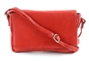 Flap Over Sling Shoulder Bag Style #1916 RED