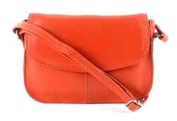 Flap Over Shoulder Bag Style : 1917 ORANGE