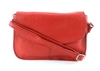 Flap Over Shoulder Bag Style : 1917 RED