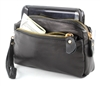 Multi Pockets Wristlet Black