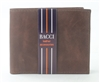 El Dorado Brown Leather Slim Bi-Fold Wallet Style: 3524