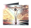 Jesus Christ Bi-Fold Wallet Vegan Leather VL-506