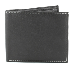 New Goat Bi-Fold Wallet Vegan Leather VL-509