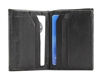 Lambskin Bi-fold Wallet with Two Side Flaps Style : 593