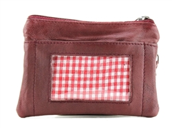 I.D. Window Coin Purse Style : 720 RED