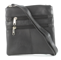 DOUBLE COMPARTMENT CROSS BODY :771