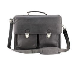 Two Lock Flap Over Briefcase Style : 8107