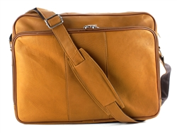 Zip Top Messenger Bag,  Aspen Leather,  Style #: 8114