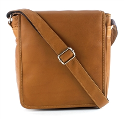 Transit Leather Flap over Messenger Bag Style #: 8116