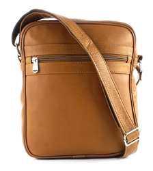 Transit Leather Top Zip Slim Messenger Bag Style #: 8119