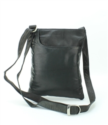 Front Pocket Tall Cross Body Bag Style #9268