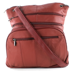 Large Cross Body Style : 970 - Wine Red