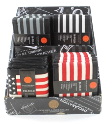 American Flag 24 PCs DISPLAY UNIT
