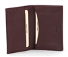 Lambskin Business Card Case Style : BCC401 Burgundy