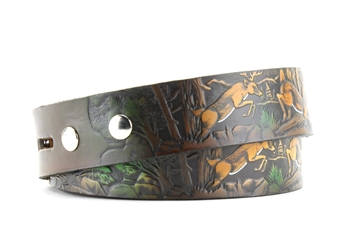 Painted Deer Belt Style : BL107