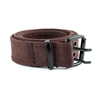 Cotton Canvas Double Grommet Hole Belt Style #BL181 Brown
