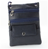 Lambskin Large Neck Purse Style : C13- NAVY BLUE