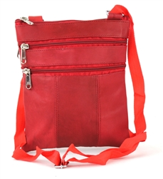 Sling Bag with Organizer Style : C14- RED