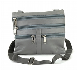 Neck Purse Style : C15- LIGHT GREY