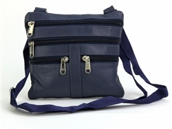 Neck Purse Style : C15- MEDIUM BLUE