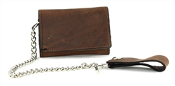 Tri-fold Chain Wallet Style : CWT