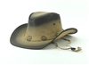 Brass Concho Cowboy Hat Style: # HT107