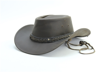 Smooth Leather Cowboy Hat Style: #HT116