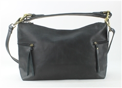 Park Zip Hobo Style #IT14641-Black
