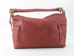 Park Zip Hobo Style #IT14641-Red