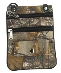 REALTREE Small Crossbody Bag, Style: RTLB01-BLACK