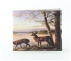 Deer Print Vegan Leather Bi-Fold Wallet Style #VL-566