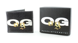 OG GOLD Print Vegan Leather Bi-Fold Wallet Style #VL-571