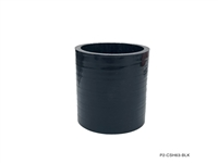 "P2M STRAIGHT HOSE : 4.00"" ID HOSE COUPLER - BLACK"