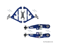 P2M COMBINATION : NISSAN S14 FRONT AND REAR LOWER CONTROL ARMS COMBO