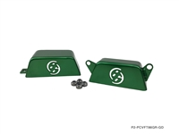 P2M FT86 PULLEY COVER GREEN