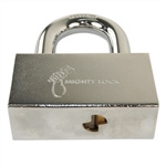 "MIGHTY LOCK, (Like MUL-T-LOCK) #16 C Series Removable Shackle Padlock (5/8"" Shackle) 2-1/4"" Clearance, HIGH SECURITY, 006 KEYWAY"