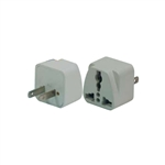 CONECT IT, 10-026, FOREIGN TRAVEL 2 Flat Pin Universal Adapter Plug