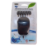 PPP 10-503 Black 5000mA Universal AC/DC Adapter, specially designed with 6 different adapter plugs