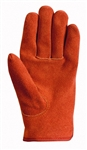 Wells Lamont, 1018L, Suede Work Gloves with Bucktan Cowhide Ball & Tape, Keystone Thumb, Large