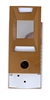 Lee Electric, 1028689G, Gold, Door Viewer And Non Electric Chime Combination, Chime Door Viewer