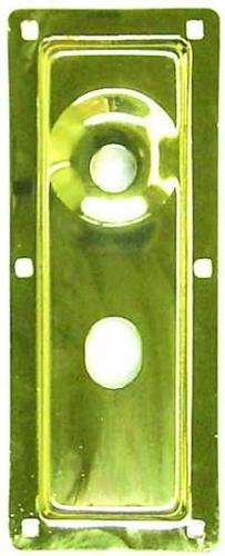 Progressive 1044bp Mortise Lock Cylinder Guard Plate 1 4